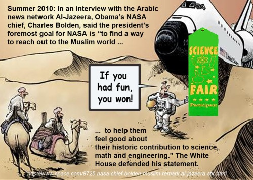 2010 NASA mission - Make Muslims feel good