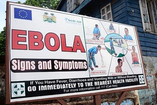 2014 Ebola symptom sign