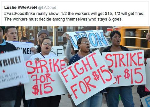 2014_08 Fast Food strike