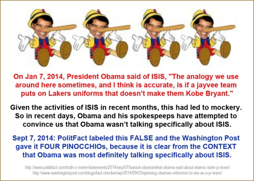 2014_09 07 Obama lied again