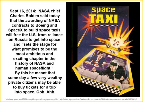 2014_09 16 NASA awards contract for space taxis