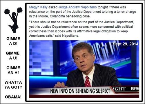 2014_09 29 Judge Napolitano on Moore beheading