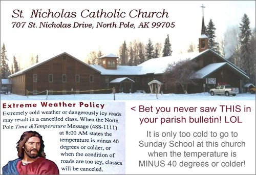 2014_09 North Pole church bulletin