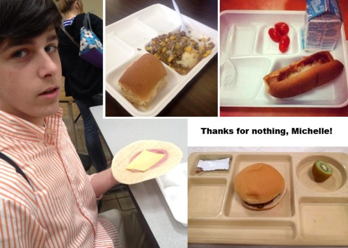 Michelle's school lunches for public kids