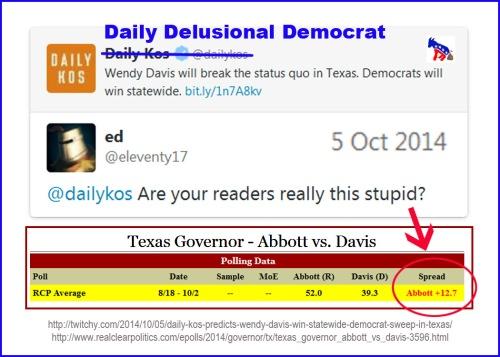 2014_10 05 Daily Delusional Democrat