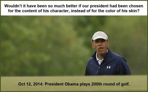 2014_10 12 Obama 200th round of golf