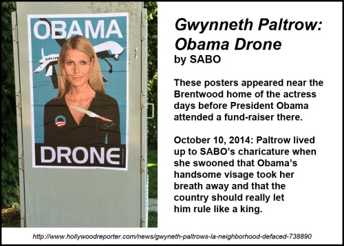 2014_10 Obama Drone by SABO