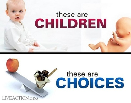 ABORTION children vs choices