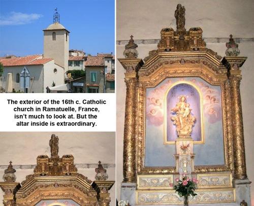 ALTAR Notre Dame Ramatuelle France