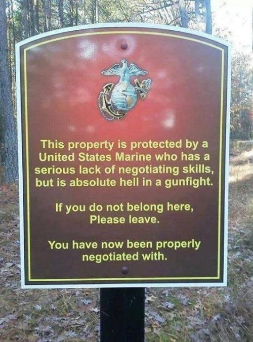 USMC This property