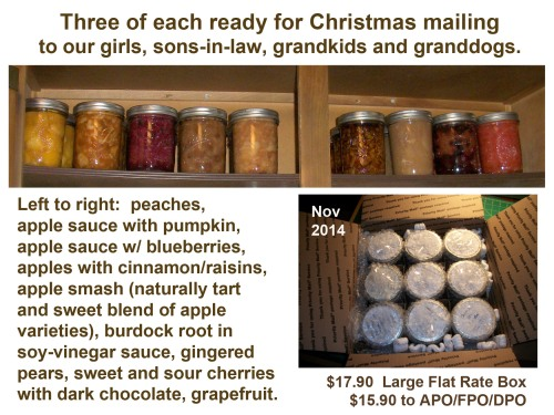 2014_11 27 Canned goods for Cmas