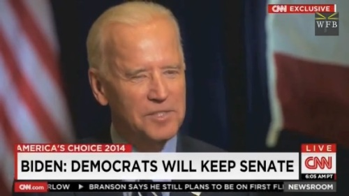 2014_11 Biden says Dems would hold Senate