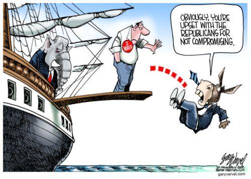 Cartoonist Gary Varvel: Democrats spin their election losses