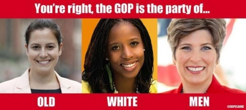 GOP old white men