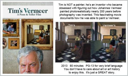 MOVIE Tim's Vermeer