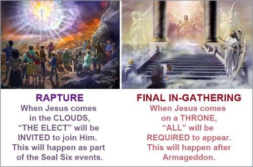 Rapture vs Judgment