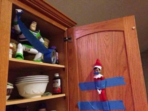 ELF Buzz Lightyear Elf on Shelf