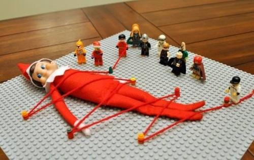 ELF LEGO Elf on Shelf Gulliver