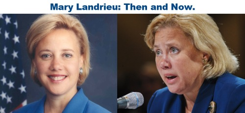 Landrieu then and now