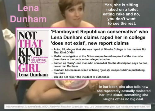 Lena Dunham is a terrible person