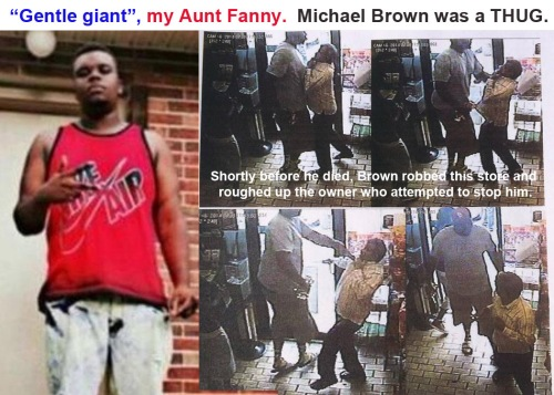 Michael Brown Gentle Giant, my Aunt Fanny