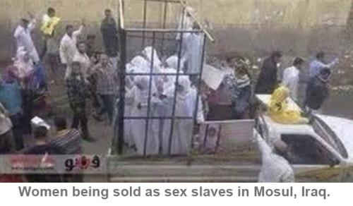 Mosul sex slave market