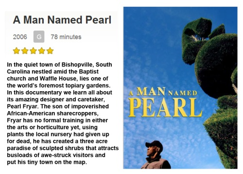 MOVIE A man named Pearl