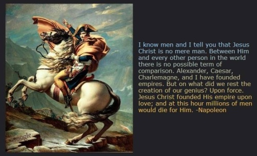 Napoleon on Jesus