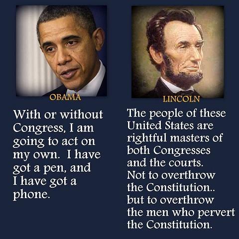 Obama v Lincoln