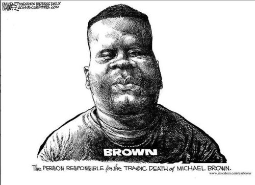Person responsible for Brown's death