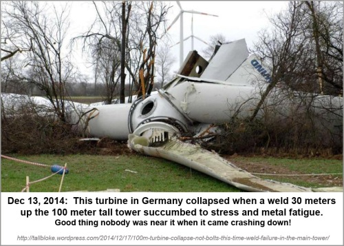 2014_12 13 German turbine collapses