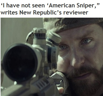 2015_01 15 Reviewer hasn't seen Sniper