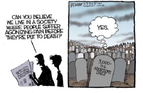 Capital punishment vs Abortion