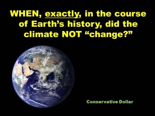 CLIMATE It changes