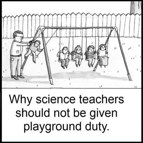 SCIENCE playground duty