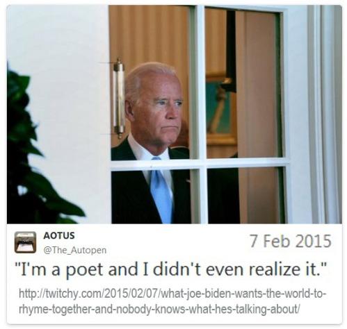 2015_02 07 Biden is a poet