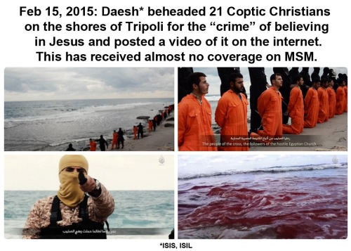 2015_02 15 Daesh beheads 21 Coptic Christians