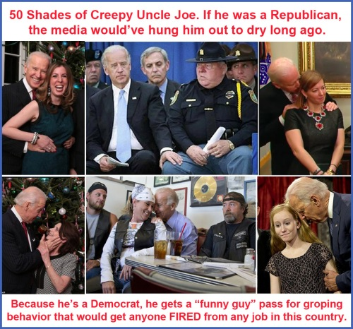50 shades of Creepy Joe
