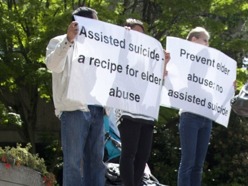 Assisted suicide elder abuse