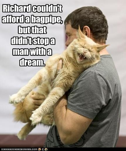 CAT bagpipe - sent to KK