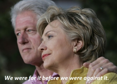 Clintons on Iraq