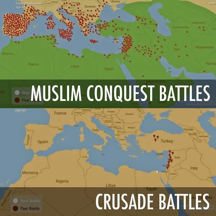 an analysis of the crusades in the history of christian and muslim worlds The third crusade is perhaps history's most famous crusade due mainly to the charismatic leaders of the opposing christian and muslim forces salah ad-din yusuf ibn ayyub , or to the western world, saladin (1137/38-1193), was the famous kurdish leader who founded the muslim ayyubid dynasty.