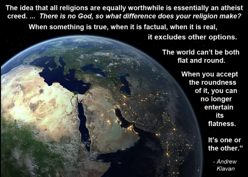 Klavan on truth in religion