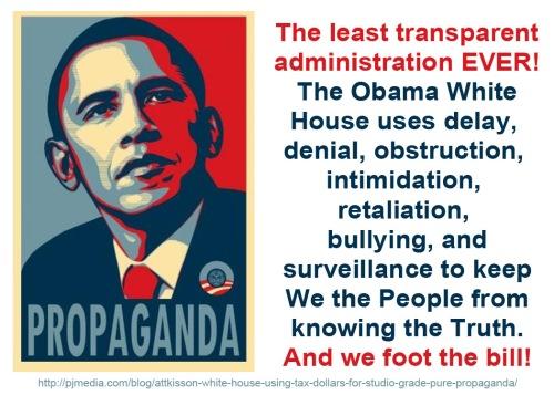 Least transparent administration ever