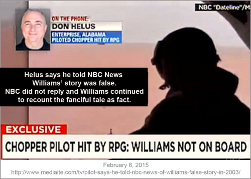 Lyin' Brian - Pilot told NBC false story