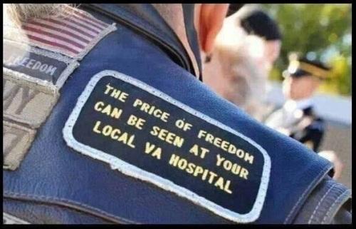 MIL Price of freedom - VA hospital
