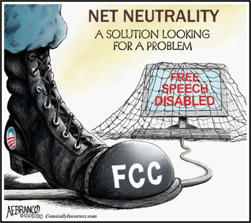 Net neutrality FCC toon