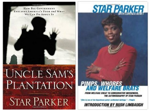 Star Parker - books