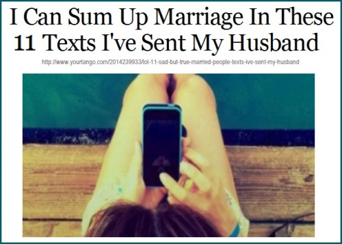 Text marriage