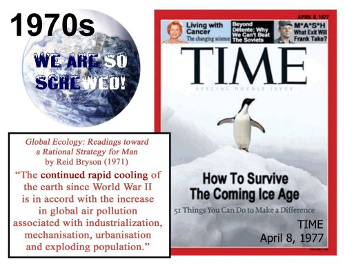 1977 TIME - Global Cooling Crisis